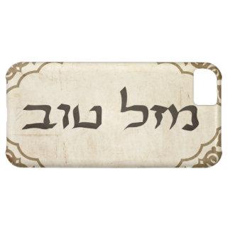 Jewish Mazel Tov Hebrew Good Luck iPhone 5C Cases