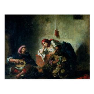 Jewish Musicians in Mogador, 1847 Postcard