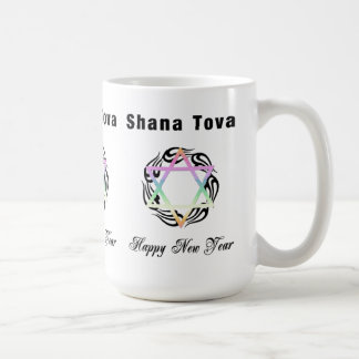 Jewish New Year Star of David Coffee Mug