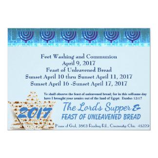 Jewish Passover Card