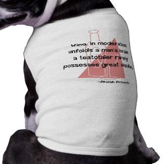 Jewish Proverb Doggie Tshirt