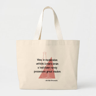Jewish Proverb Tote Bag