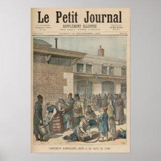 Jewish Refugee Camp Print