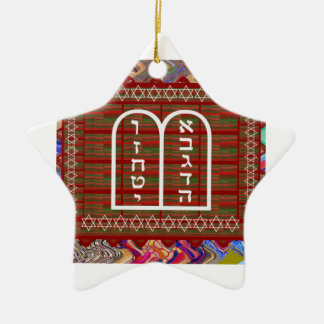 Jewish Religious Spiritual Ritual Art effects gift Ceramic Ornament