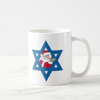 JEWISH SANTA COFFEE MUGS