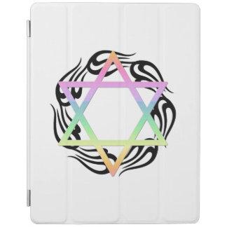 Jewish Star Colors iPad Cover