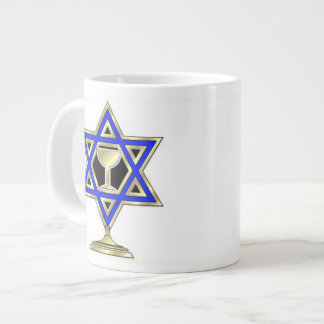 Jewish Star Large Coffee Mug