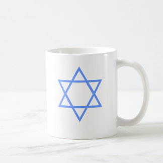 JEWISH STAR OF DAVID COFFEE MUG