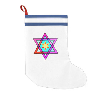 Jewish Star Of David Small Christmas Stocking