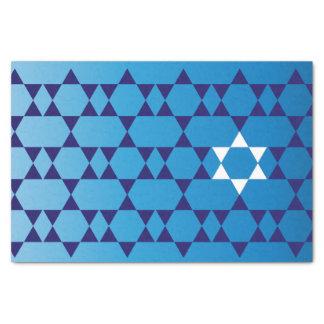 Jewish Star tissue paper