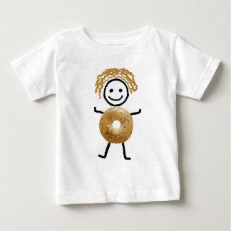 Jewish T-Shirt-Kids -Bagel Kid Baby T-Shirt