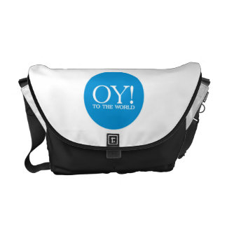 Jewish Tote - OY TO THE WORLD! Commuter Bag