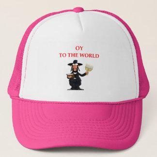 jewish trucker hat