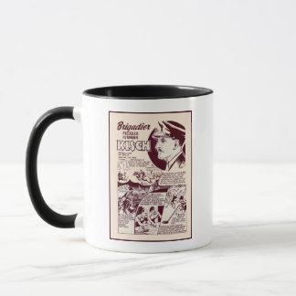 Jewish War Heroes Kisch Mug