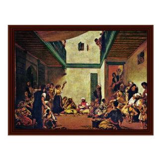 Jewish Wedding In Morocco Postcard