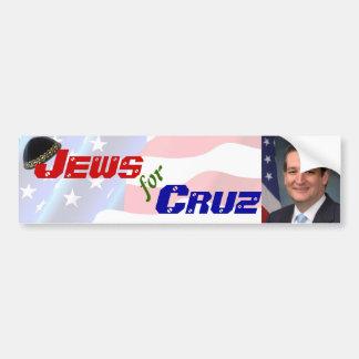 Jews for Ted Cruz Bumper Sticker