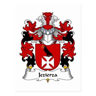 Jezierza Family Crest Postcard