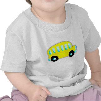 JezzyLala Baby School Bus T Shirts