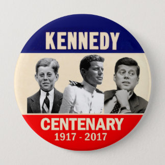 JFK 100th Birthday 10 Cm Round Badge