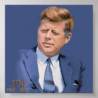 JFK 1963 - 2013 POSTER