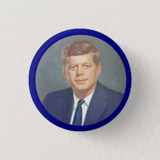 JFK 3 CM ROUND BADGE