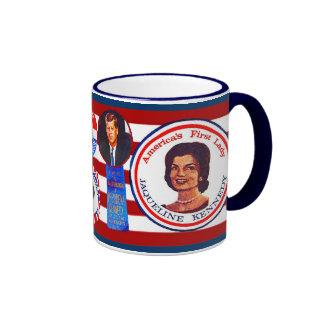 JFK 4th of July Ringer Mug