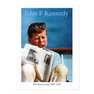 JFK 50th Anniversary Postcard