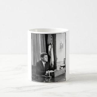 JFK Addresses The Nation Coffee Mugs