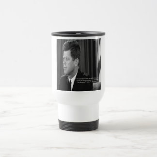 JFK Difference/Diversity Quote Stainless Steel Travel Mug
