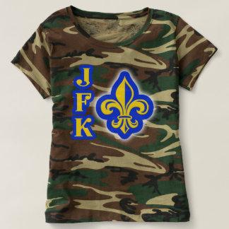 JFK Fleur de Lis Camouflage Shirt