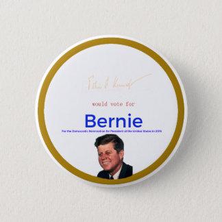 JFK for Bernie Sanders 6 Cm Round Badge