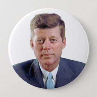 JFK Forever 10 Cm Round Badge