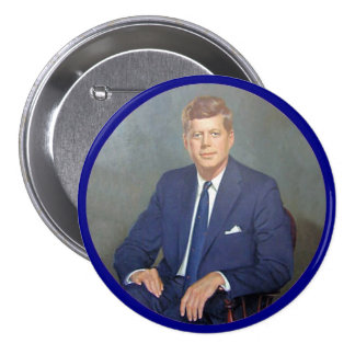 JFK Forever 7.5 Cm Round Badge