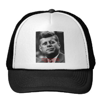 "JFK ""Forgive Not Forget"" Wisdom Quote Gifts & Card Cap"
