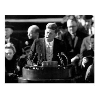 JFK Inauguaration Postcard