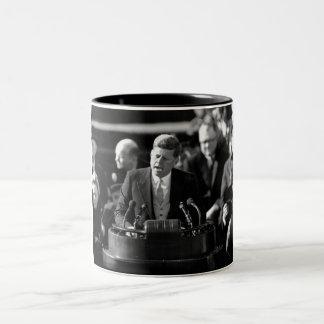 JFK Inauguaration Two-Tone Coffee Mug