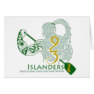JFK Islanders 93 Reunion Gear Greeting Card