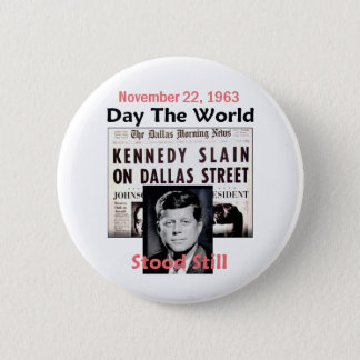 JFK KILLED Button