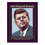 JFK - Measure Postcard
