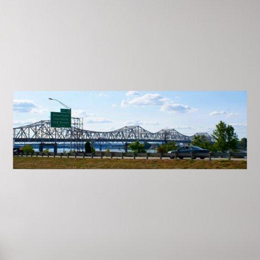 JFK Memorial Bridge Print