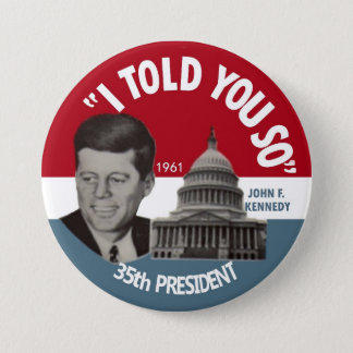 JFK Memorial Pin 1961