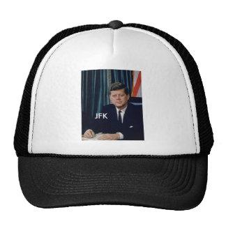 JFK official portrait from public domain Cap