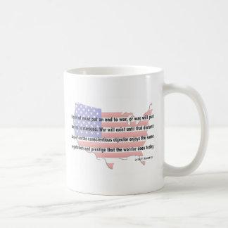 JFK Peace Quote Coffee Mug
