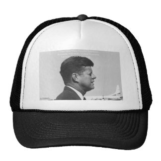 """JFK """"Peaceful Revolution"""" Quote Gifts Cards & Tees Cap"""