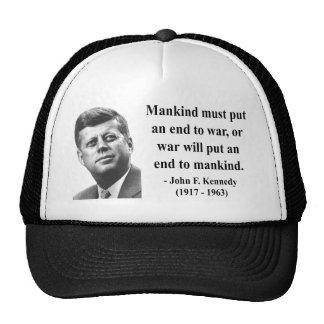 JFK Quote 1b Cap