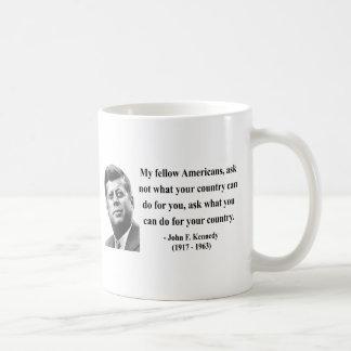 JFK Quote 3b Coffee Mug
