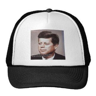 JFK Repair The Roof Famous Quote Cap