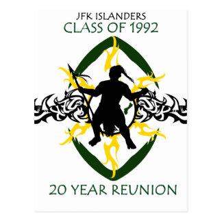 JFK Reunion 1992 Postcard