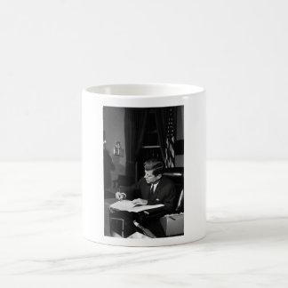 JFK Signing The Cuba Quarantine Coffee Mug