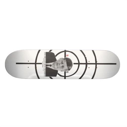 JFK skateboard deck